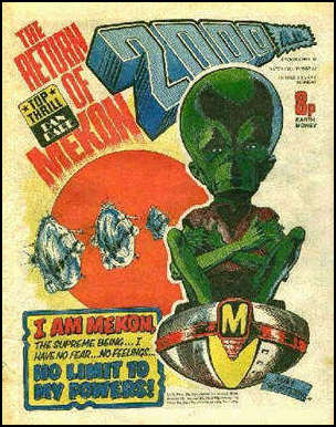 The 1970's 2000AD version of The Mekon