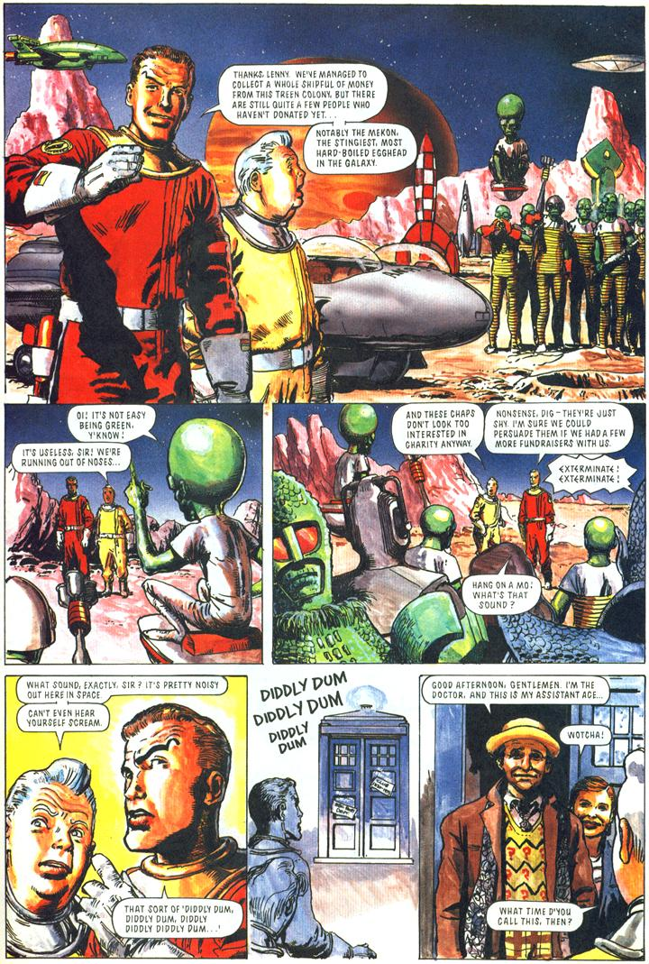 Comic Relief - Page 1 of 2 (also featuring Dr. Who)