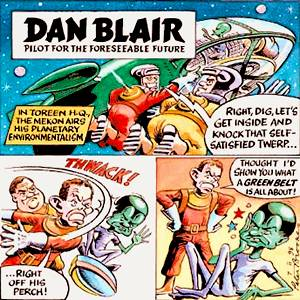 The Times' 1990's spoof of Dan Dare and The Mekon