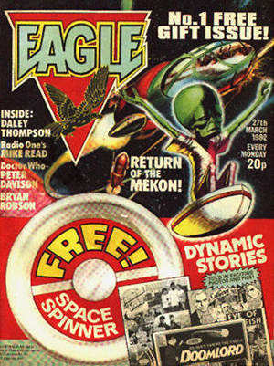The 1980's new Eagle version of The Mekon